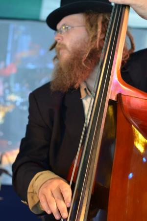 Joby playing Bass